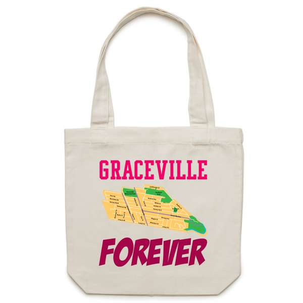 Graceville Forever - Carrie - Canvas Tote Bag