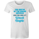 Wavell Heights Centre Of The Known Universe - AS Colour Wafer - Womens Crew T-Shirt
