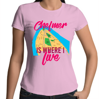 Chelmer Is Where I Live - Womens T-shirt