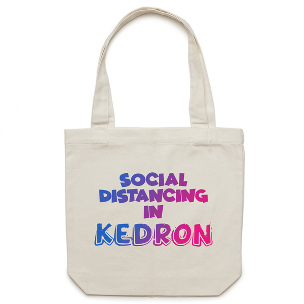 Social Distancing in Kedron - AS Colour - Carrie - Canvas Tote Bag