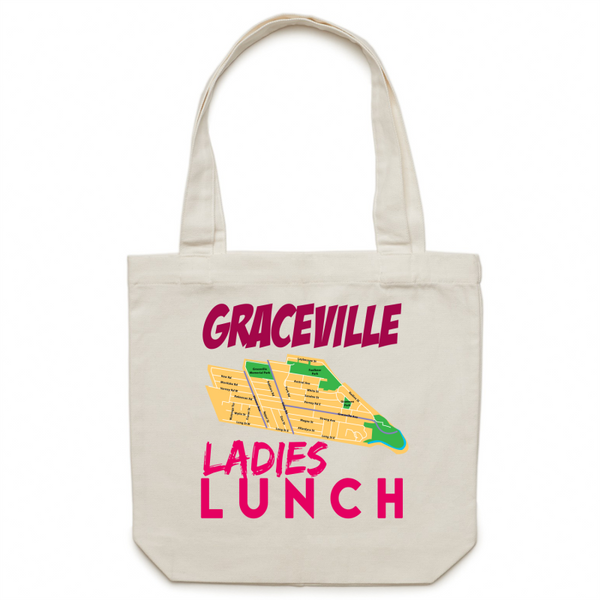 Graceville Ladies Lunch - Carrie - Canvas Tote Bag