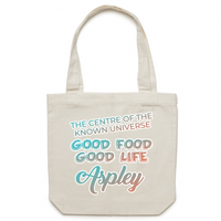 Aspley Centre Of The Known Universe - AS Colour - Carrie - Canvas Tote Bag