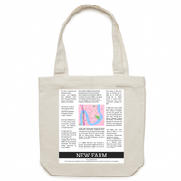 New Farm History - Carrie - Canvas Tote Bag