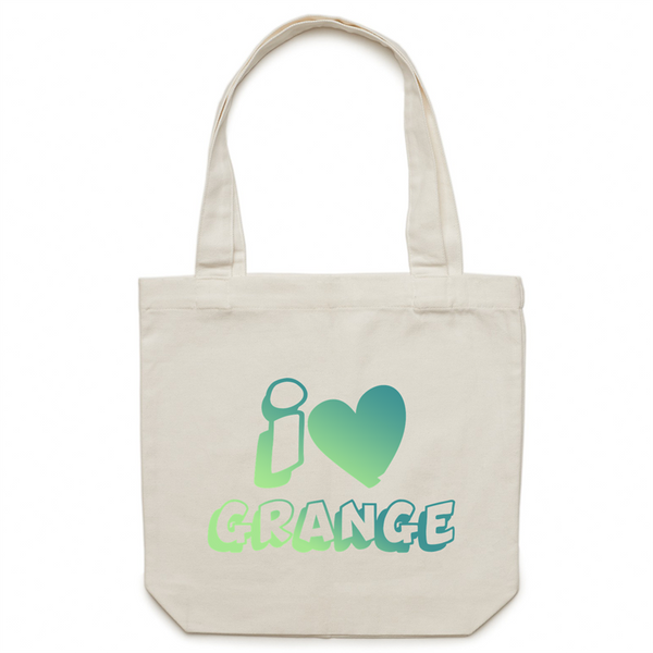 I Love Grange - AS Colour - Carrie - Canvas Tote Bag