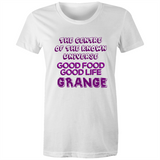 Grange Centre Of The Known Universe - AS Colour Wafer - Womens Crew T-Shirt