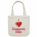 I Love Kenmore Hills - Carrie - Canvas Tote Bag