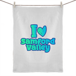 I Love Samford Valley - 50% Linen 50% Cotton Tea Towel
