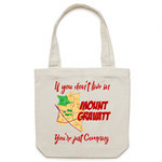 If You Don't Live In Mt Gravatt, You're Just Camping - AS Colour - Carrie - Canvas Tote Bag