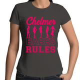 Chelmer Babes Rule - Womens T-shirt