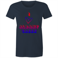 I love Albany Creek - AS Colour Wafer - Womens Crew T-Shirt