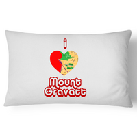 I Love Mount Gravatt - Pillow Case - 100% Cotton