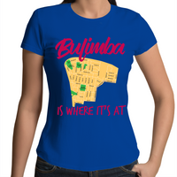 Bulimba Is Where It's At - Womens T-shirt