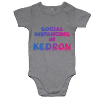Social Distancing in Kedron - AS Colour Mini Me - Baby Onesie Romper