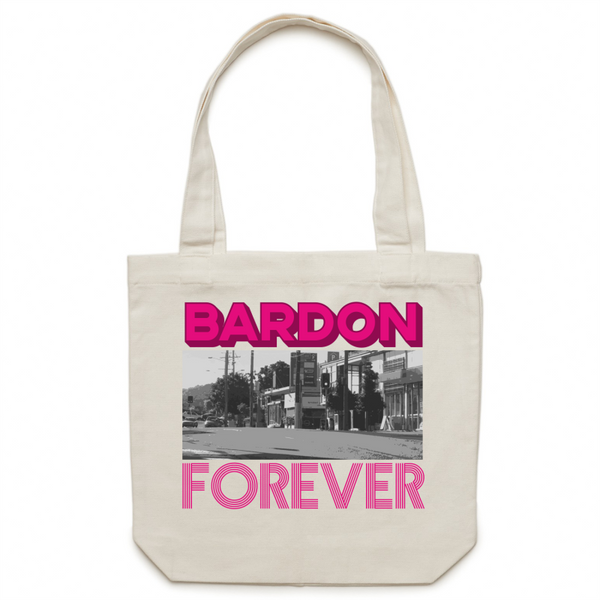 Bardon Forever - Carrie - Canvas Tote Bag