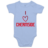 I Love Chermside  - AS Colour Mini Me - Baby Onesie Romper
