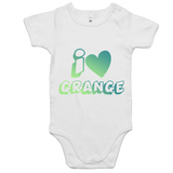 I Love Grange - AS Colour Mini Me - Baby Onesie Romper