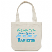 Hamilton Centre Of The Known Universe - AS Colour - Carrie - Canvas Tote Bag