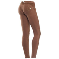 (WRUP1LC5E-ZC0) Wr.Up® Shaping Effect - Brown - Regular Waist - Skinny