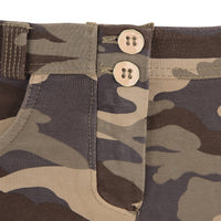 (WRUP2RC007-M95) DARK CAMOUFLAGE WR.UP® REGULAR-WAIST SUPER SKINNY TROUSERS