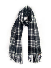 Load image into Gallery viewer, Scarf - Black/White