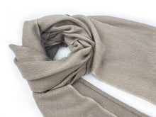 Load image into Gallery viewer, Fine Shawl - Beige/White Twill