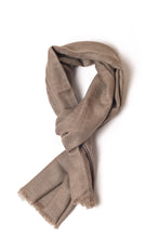 Load image into Gallery viewer, Natural Brown Shawl (Ariun Collection)