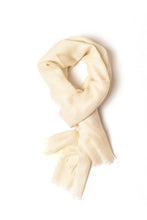 Load image into Gallery viewer, Natural White Shawl (Ariun Collection)