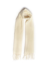Load image into Gallery viewer, Natural White Scarf (Ariun Collection)