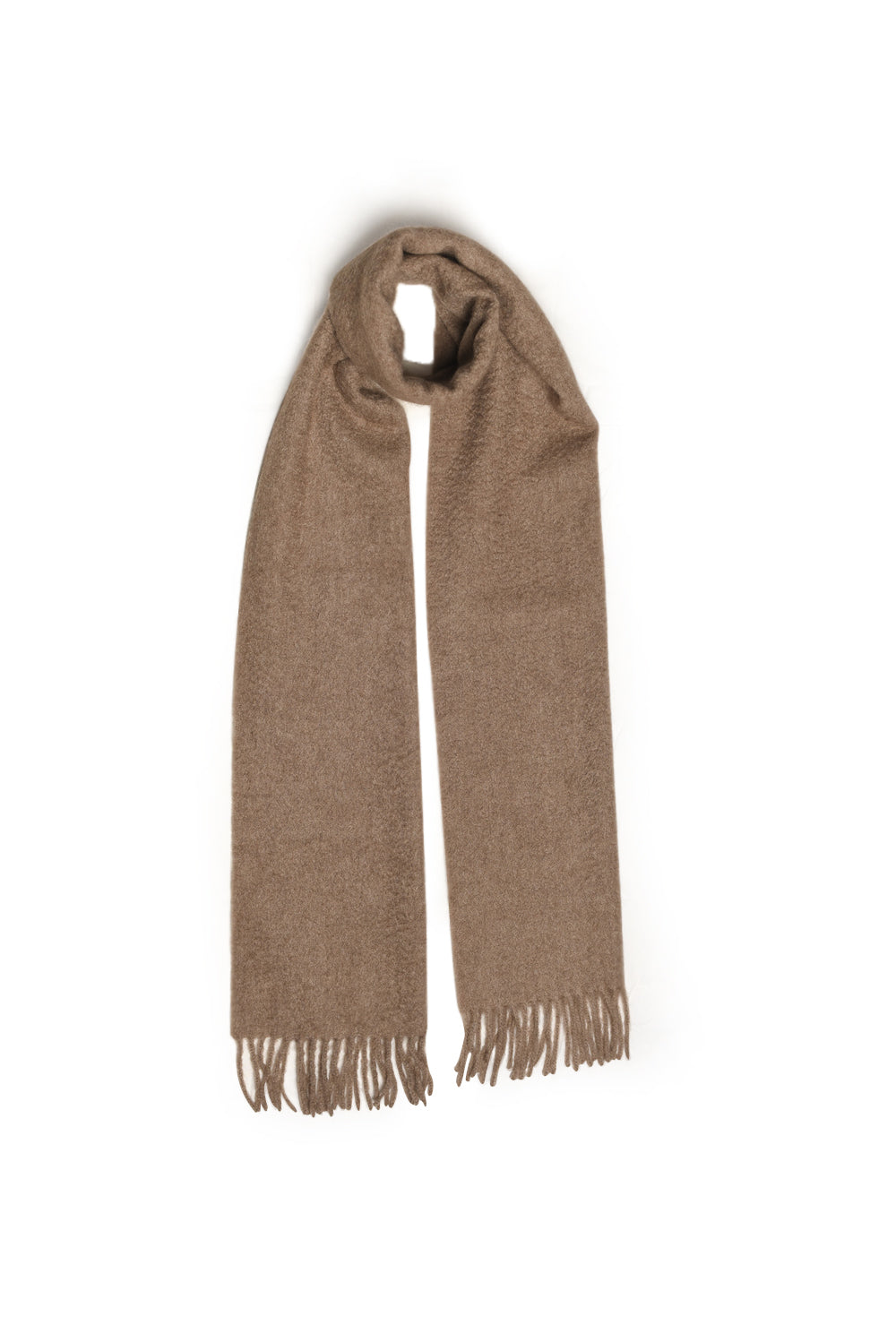 Natural Brown Scarf