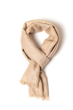 Load image into Gallery viewer, Natural Beige Shawl (Ariun)