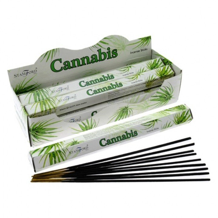 6x Cannabis Premium Incense