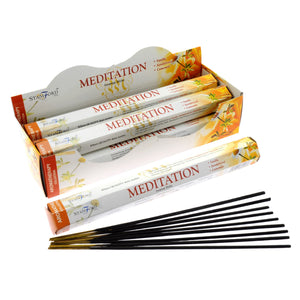 6x Meditation Premium Incense