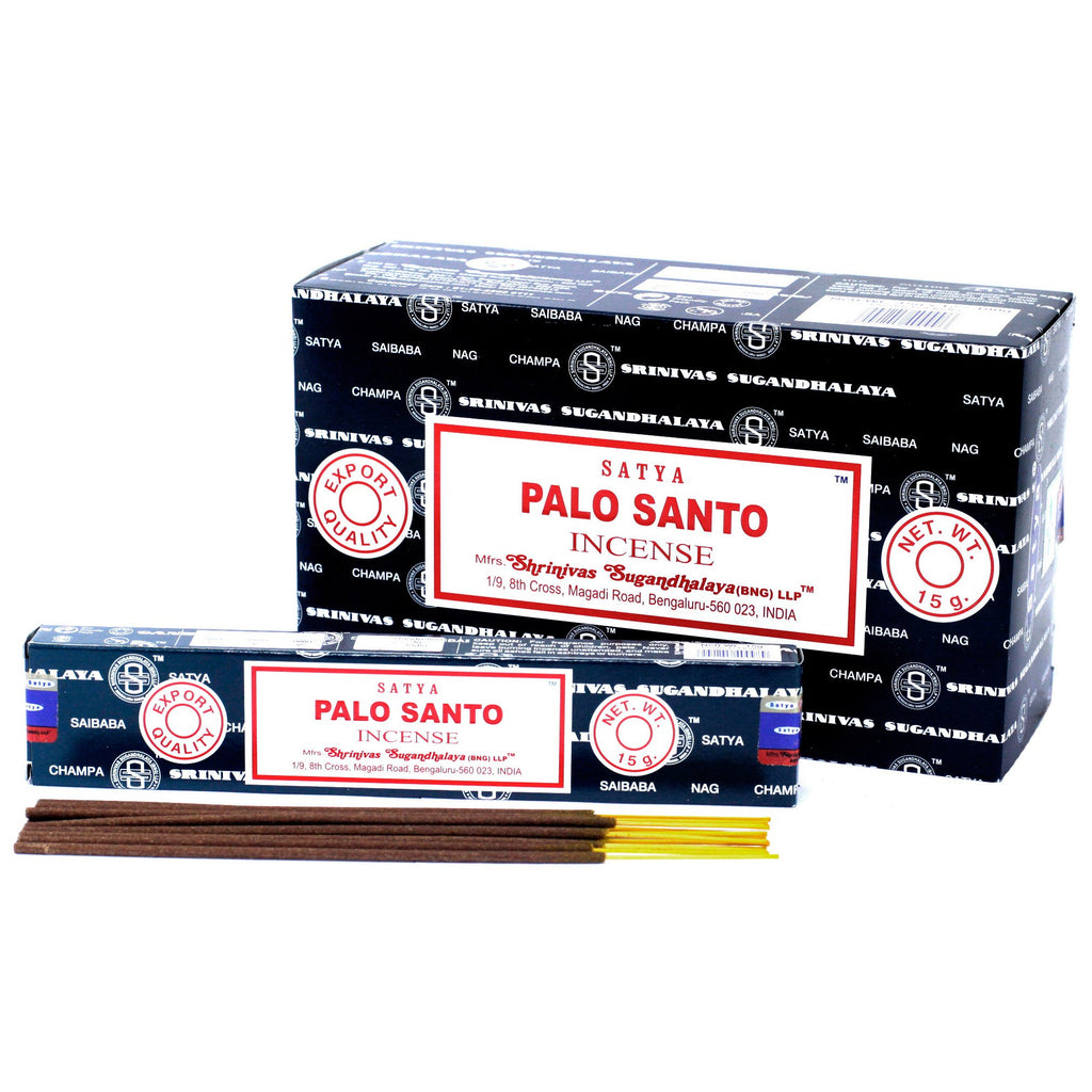 12x Satya Incense 15gm - Palo Santo