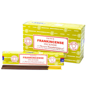 12x Satya Incense 15gm - Frankincense