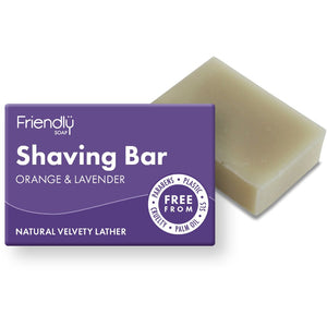 Friendly Soap - Natural Shaving Bar