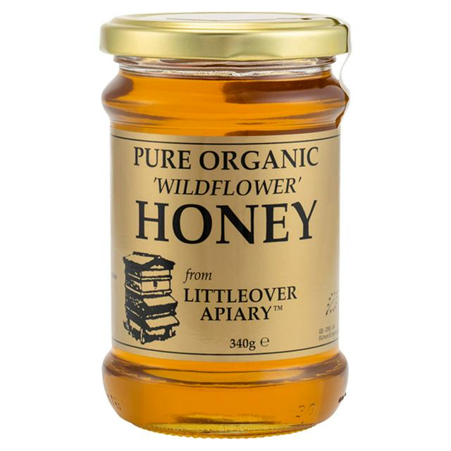 Organic Wildflower Clear Honey 340g