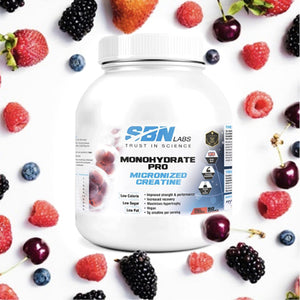 Monohydrate Pro Micronized Creatine - Fruit Punch Flavour