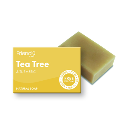 Friendly Soap - Natural Tea Tree & Turmeric Soap