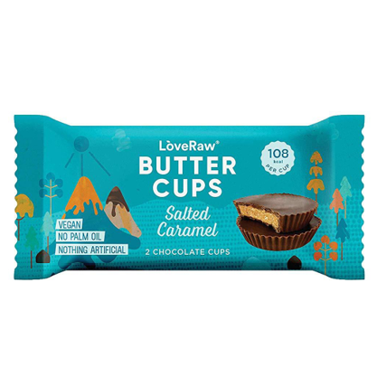 LoveRaw - Organic Salted Caramel Butter Cups