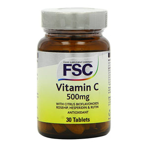 Vitamin C (low acid) 500mg 30 Tablets