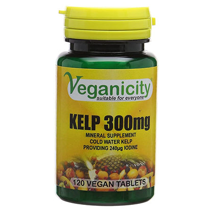 Kelp 300mg 120 Vtabs - Rich in Iodine