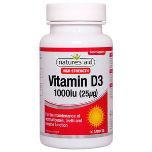 Vitamin D3 1000iu 90 Tablets