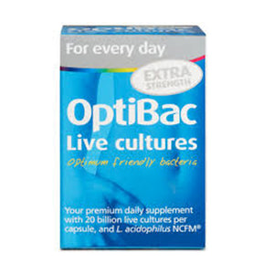 OpticBac EXTRA STRENGTH Probiotics