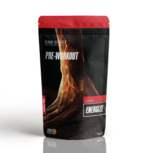 Raw Sport Energize Pre-Workout - Cherry
