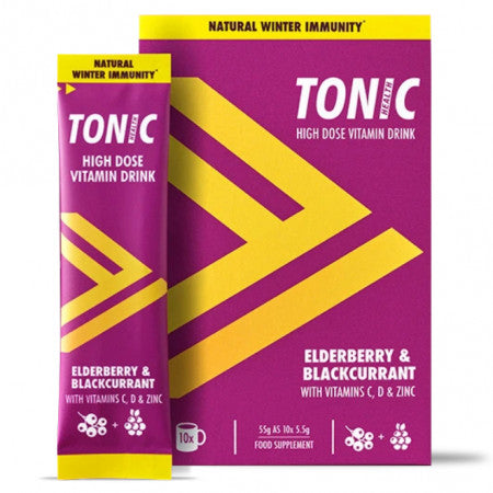Elderberry & Blackcurrant, immunity support. 10 Sachets