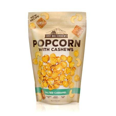 East Bali Cashews - Salted Caramel Popcorn with Cashews