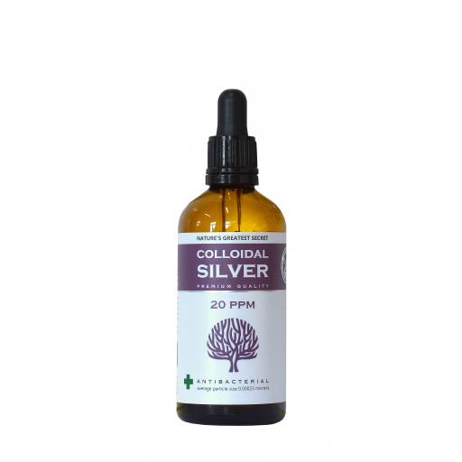 20ppm Enhanced Colloidal Silver 100ml Spray - pH 9.0