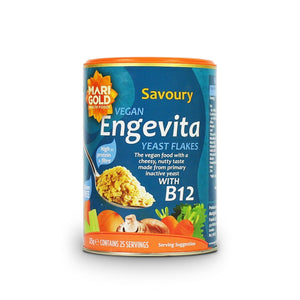 Engevita Yeast Flakes With Added B12 125g