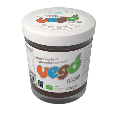 Vego Fine Hazelnut Crunchy Chocolate Spread