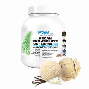 Vegan Pro-Isolate - Vanilla Ice Cream Flavour